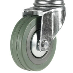 economy bolt hole swivel castor grey tyre wheel