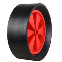 rubber sandhopper trolley wheels