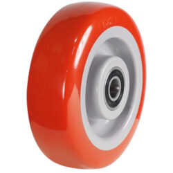 polyurethane tyre grey centre wheel