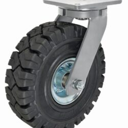 Heavy Duty Rubber Wheels High speed Castor