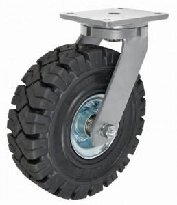 Heavy Duty Rubber Wheels High speed Castor