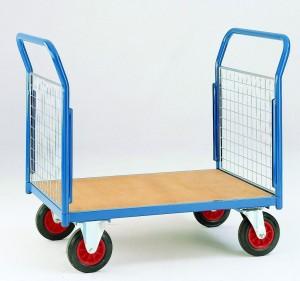double ended platform truck 360 castors & wheels